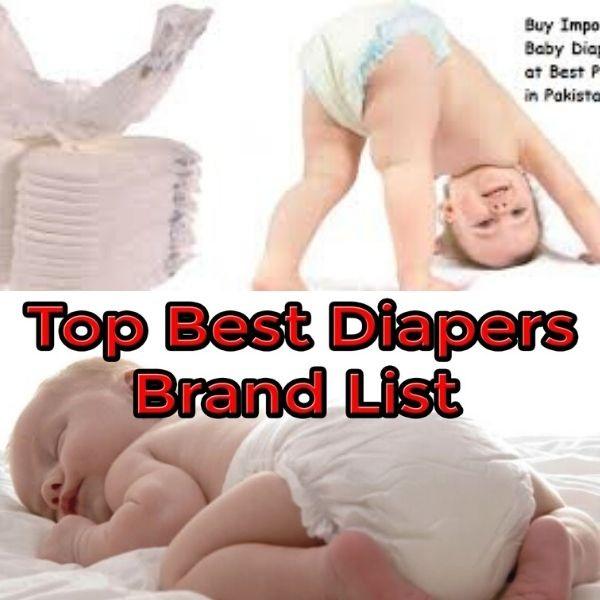 Best Diapers in Pakistan